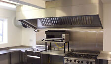 Commercial Kitchen Extraction Stainless Steel Canopy 1.8mm /hood