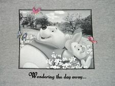 Disney Winnie The POOH Corner TV Show Wondering The Day Away  Large L T SHIRT