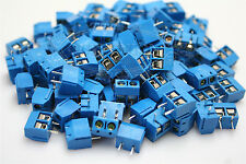 20Pcs Pitch 2Pin PCB  Universal Mount Power Screw Terminal Block Connector 5mm