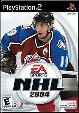 NHL 2004, Excellent PlayStation2, Playstation 2 Video Games