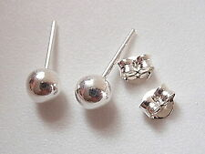 3mm Dot Ball Studs 925 Sterling Silver Stud Earrings Corona Sun Jewelry