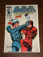 PUNISHER #10 VOL1 MARVEL DAREDEVIL X-OVER SCARCE AUGUST 1988