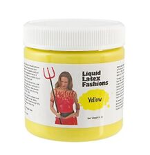 4 Ounce Yellow Liquid Latex Body Paint by Liquid Latex Fashions