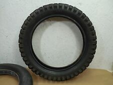 1986 Honda XL250R XL 250 Yokohama Rear Wheel Tire 4.60-17 & inner tube