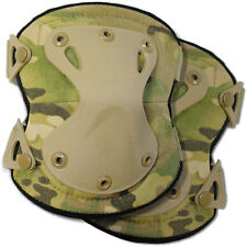 Bulldog Tactical Army Military Airsoft Protective Knee Pads Pair MTP Multicam