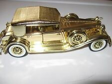 1932 Chrysler Lebaron Daimler Signature die cast toy collectible Gold plated