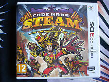 Nintendo 3DS - Code Name S.T.E.A.M. - Nuevo - Precintado Edición España