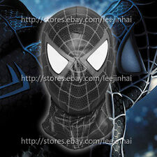 The Amazing Spider Man black  mask Cosplay  Hood Spider-Man 3 Venom black mask