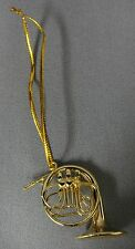 FRENCH HORN MUSICAL INSTRUMENT ORNAMENT  2""