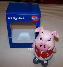 Sydney Swans AFL Attitude Piggy Bank Money Box 15cm Resin Hand Painted New