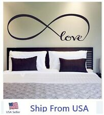 LOVE Infinity Wall Decal Lettering Words Removable Vinyl Quote Stickers 59""