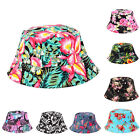 2015 Unisex Bucket Hat Boonie Hunting Fishing Outdoor Cap Floral Summer Sun Hats