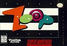 ZOOP Super Nintendo SNES Game **FACTORY SEALED**