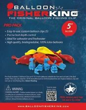 """Balloon Fisher King  400 Multi-Clip Pro Pack with 5""""Balloons,Clips 10ct"""