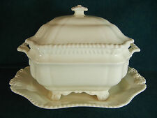 Copeland Spode Gadroon Large Soup Tureen with Lid and Under Plate