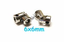 2pcs 6x6mm RC Boat Universal joint coupling U-Joint US TH038-03201E