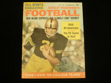 December 1959 Dell Sports NCAA Football Magazine Bob Anderson Cover EX