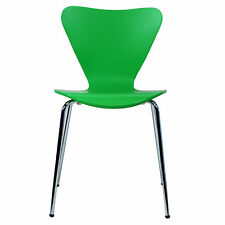 1 Arne Jacobsen Series 7 Stacking Chairs in Green