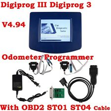 Main Unit Of V4.94 Digiprog III 3 Oodmeter Programmer With OBD2 ST01 ST04 Cable