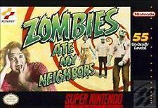 Zombies Ate My Neighbors (Super Nintendo, 1993) Game Cartridge - Cleaned+Tested
