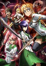 """High School of the Dead Animation poster 17"""" x13"""" Decor 14"""