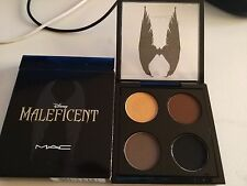 LIMITED NEW IN BOXED M.A.C DISNEY MALEFICENT QUAD 4 EYE SHADOWS PALETTE