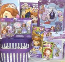 NEW Disney SOFIA THE FIRST EASTER TOY GIFT BASKET BIRTHDAY VALENTINES