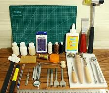 Tools Leather craft Tool Kit Leather Hand Sewing Tool Set @