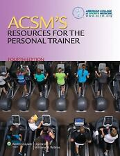 Acsm's Resources for the Personal Trainer by Lippincott Williams and Wilkins St…