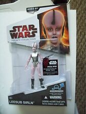 STAR WARS LEGACY COLLECTION LEESUB SIRLIN CANTINA ALIEN FIGURE DROID PART MOC