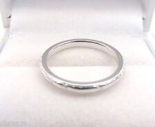 ORANGE BLOSSOM VINTAGE FANCY DESIGN WEDDING BAND 18K WHITE GOLD RING