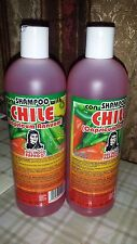 2X SHAMPOO CHILE DEL INDIO PAPAGO (PACK OF 2) 16.9 FL OZ EA  HAIR GROW ALL NATUR