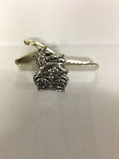 Royal arms crown refracpp   English Pewter emblem on a Tie Clip 4cm long