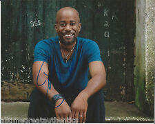 COUNTRY SINGER DARIUS RUCKER HAND SIGNED AUTHENTIC 8X10 PHOTO D w/COA HOOTIE