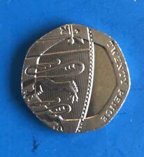 Undated 20p Coin Rare Error