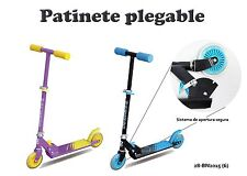 Patinete de Aluminio Scooter Plegable