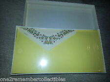 Papaer Factory 24 STATIONARY SHEETS & ENVELOPES Vintage Flowers Leaves ITALY New