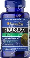 Puritans Pride, Phosphatidyl Serine, 100mg x60caps;- MEMORY - ANXIETY - STRESS