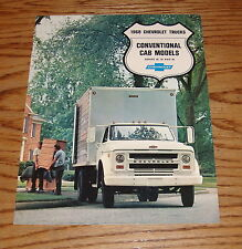 Original 1968 Chevrolet Truck Conventional Cab Models Sales Brochure 68 Chevy