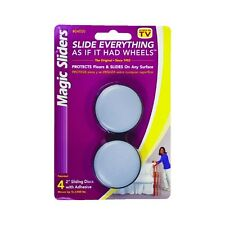 Magic Sliders Furniture Slider 2 Inch Round Pack of 4 Sliding Discs #04050