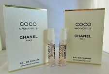Chanel Coco Mademoiselle EDP Spray Sample Vial for Women 2 ml .06 oz x 2 pcs