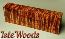 Old Growth Curly Koa Exotic Wood Knife Scales 1911 Grips Pen Blanks  KOA3293