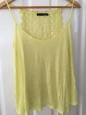 ATMOSPHERE Yellow Top - Size UK 14 - In Very Good Condition