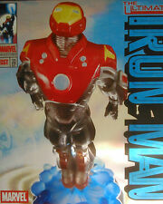 MARVEL MILESTONES ULTIMATE IRON MAN STATUE , LIMITED TO 2500 PIECES, NEW IN BOX.