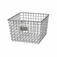 Wire Baskets For Storage Fruit Vegetables Home Kitchen Dining Bar Holder Steel