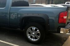 FENDER FLARES 07-13 CHEVY SILVERADO 2DR REG CAB / 4DR EXTENDED CAB LONG/STD BED