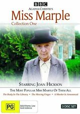 Agatha Christie's Miss Marple Collection 1 (3 Disc)- New/Sealed DVD Region 4