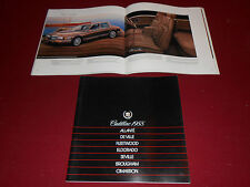 1988 CADILLAC HUGE 72 p. PRESTIGE BROCHURE / CATALOG ALLANTE DEVILLE ELDORADO +