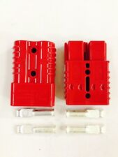 Anderson SB 175A amp Power connector plug red pair heavy duty terminal awg6 16mm