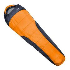ADULT LARGE ORANGE MUMMY SLEEPING BAG 2-PLY 1.5kg ALL WEATHER 4 SEASON